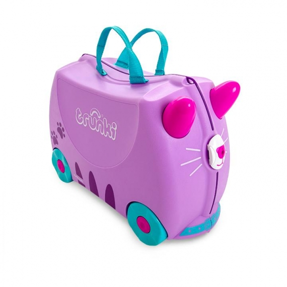 Trunki Cassie the Cat - Kabinväska Rosa