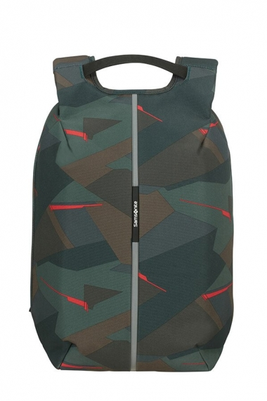 Samsonite Securipak Medium - Datorryggsäck Deep Forest Camo