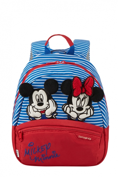 Samsonite Disney Ultimate 2.0 - Barnryggsäck S Minnie/Mickey Stripes