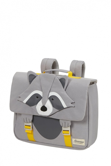 Samsonite Happy Sammies ECO - Skolväska Raccoon Remy