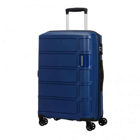 American Tourister Summer Splash - Stor Blå
