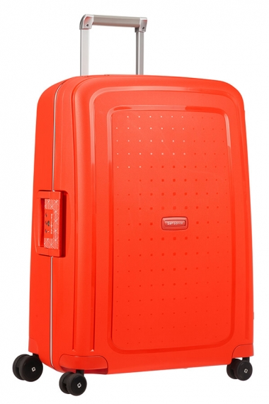 Samsonite S´Cure 69cm - Mellanstor Fluo Red Capri