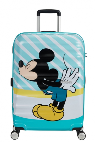 American Tourister Wavebreaker - Mellanstor Mickey Blue Kiss