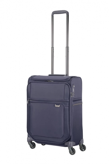 Samsonite Uplite 4-hjul & Top Pocket 55cm - Kabinväska Blå