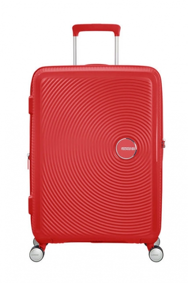 American Tourister Soundbox 67cm - Mellanstor Röd
