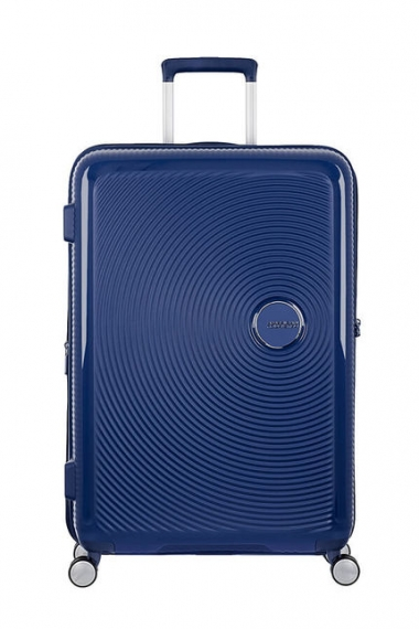American Tourister Soundbox 77cm - Stor Blå