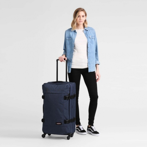 Eastpak Trans4 - Stor Double Denim