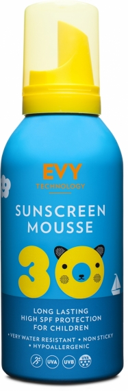 Solskydd Mousse SPF 30 Kids - EVY Technology