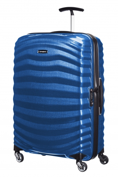 Samsonite Lite-Shock 69 cm - Mellanstor Pacific Blue