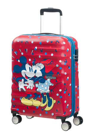 American Tourister Wavebreaker - Kabinväska Minnie Loves Mickey