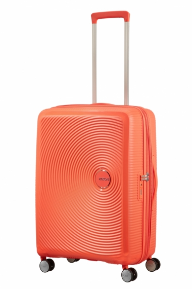 American Tourister Soundbox 67cm - Mellanstor Orange