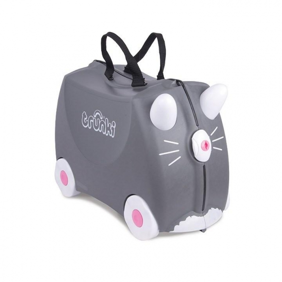Trunki Benny the Cat - Kabinväska Grå
